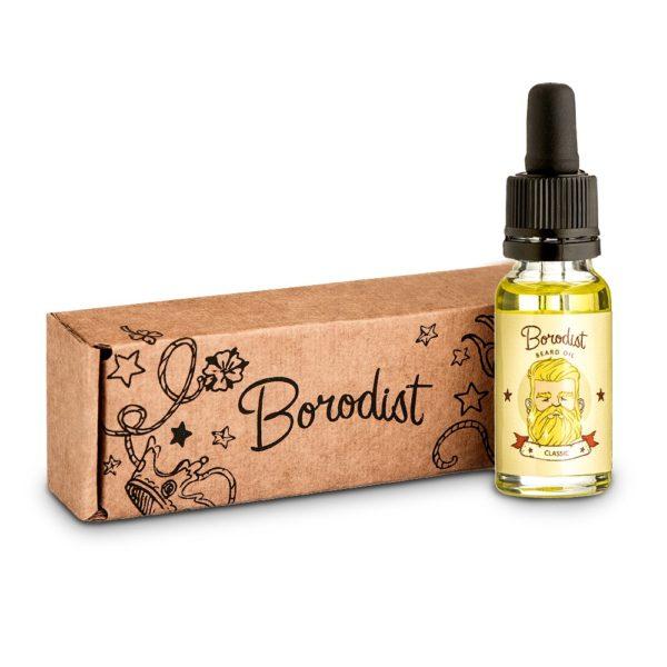Borodist Beard Oil Classic New - масло для бороды 30мл